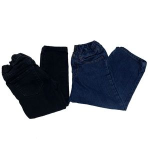 LOT OF 2 - CHILDRENS PLACE MECCA BOOTCUT  JEANS